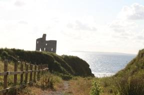 Kleine Ruine am Strand