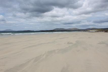 Ein Strand im Wind