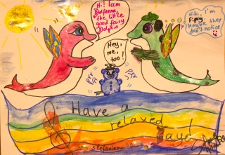 Delfeena und Fipsy treffen sich stefaniemanke